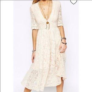 Free People Mountain Laurel Lace Dress